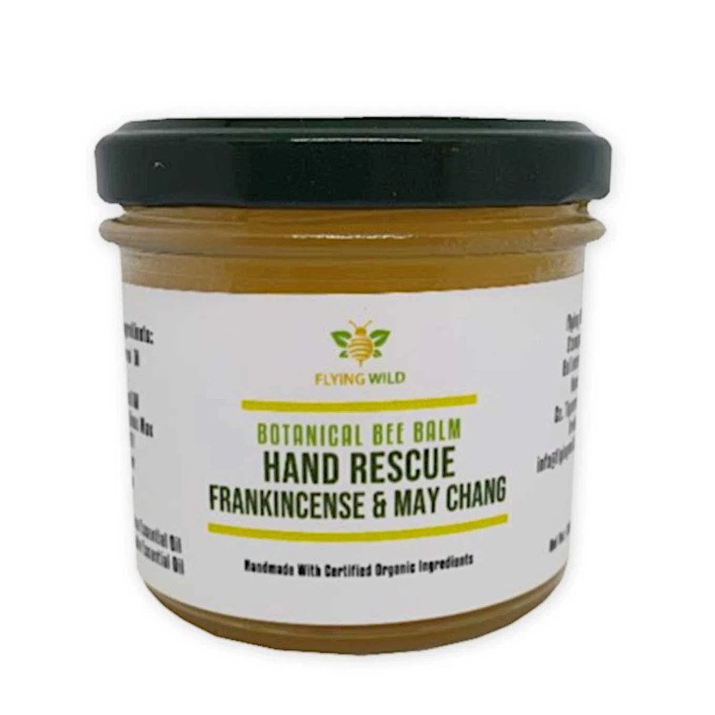Flying Wild Frankincense and May Chang Hand Rescue Balm