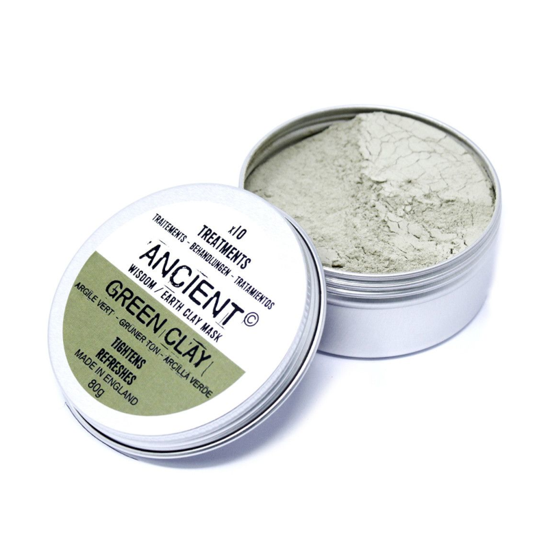Ancient Wisdom Green Clay Face Mask